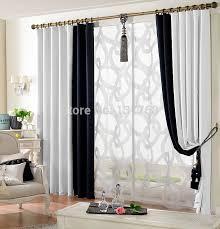 modele rideau chambre rideaux salon idées décoration intérieure