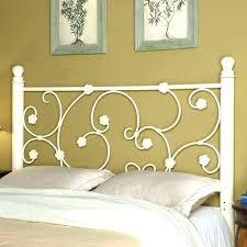 twin iron headboard s sears metal bed frame footboard black