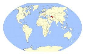 World Map Large by Large Location Map Of Turkmenistan In The World Turkmenistan