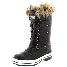 womens boots rubber sole polar products womens lace up rubber sole winter