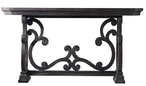 powell scroll console table scroll console table leg powell three door metal pszczelawola info