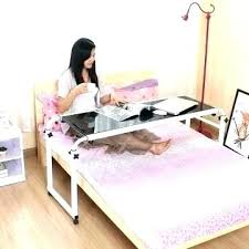 rolling table over bed table over bed occasional table over bed desk ikea table over over