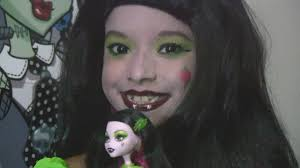 monster high costume scary tales snow bite draculaura youtube