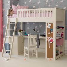 Single Bunk Bed With Desk Childrens Bed With Desk Underneath 5182
