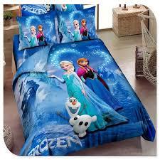 Frozen Comforter Full Blue Frozen Bedding Elsa Anna Bedding For Girls 100 Cotton Frozen
