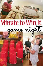 minute to win it game night game night kids s and gaming
