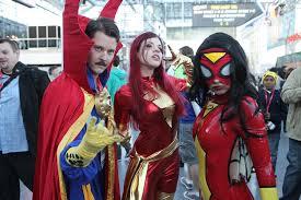 Dark Phoenix Halloween Costume Dr Strange Dark Phoenix U0026 Spider Woman York Comic U2026 Flickr
