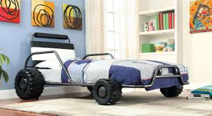 hokku designs jaymes twin car bed wayfair