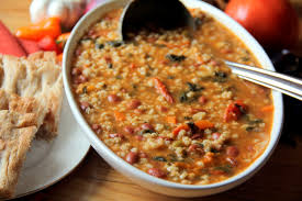 vegetable barley soup glow kitchen
