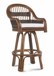 rattan bar stool tigre bay