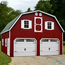 gambrel roof garages 2 car 2 story garage two story garage horizon structures