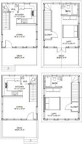 trendy idea 16 x 20 small house plans 2 16x20 w loft on modern