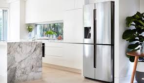 Samsung Cabinet Depth Refrigerator Samsung Srf717cdbls 719l French Door Refrigerator At The Good Guys