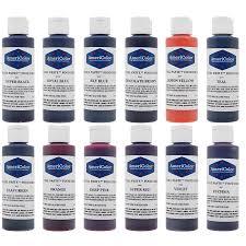 4 5 oz soft gel paste 12 color variety kit americolor corp