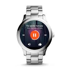 gen 1 smartwatch q founder stainless steel fossil