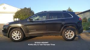jeep cherokee fire results upgraded ad1 latitude with a t tires and hazard sky lift