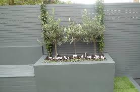 grey colour scheme agapanthus olives porcelain grey tiles lighting