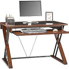 Small Desk Brown Whalen Astoria Computer Desk Brown Cherry 47 3 4 X 26 Deep A