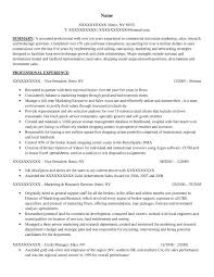 Resume For Real Estate Job by Executive Resume Samples Resume Prime