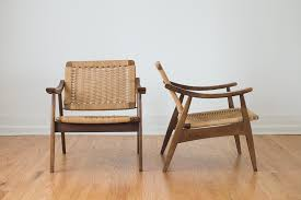 Mid Century Modern Furniture Seattle by Mid Century Woven Lounge Chairs Homestead Seattle Pinterest