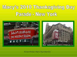 macy s 2010 thanksgiving day parade ny