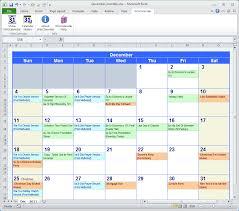 excel monthly calendar schedule template blank calendar design 2017