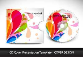 design cd cover abstract cd cover presentation design vector 01 vector cover