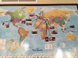 Personalized World Travel Map by Download Map Of Travels Major Tourist Attractions Maps