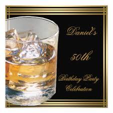 50th birthday for men invitations u0026 announcements zazzle