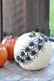 kara u0027s party ideas diy spider halloween pumpkin kara u0027s party ideas