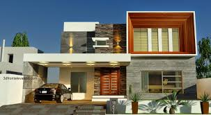 Home Design Visualizer Modern House Elevation Design From Triangle Visualizer Team