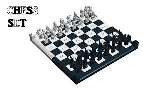 lego ideas minifigures chess set