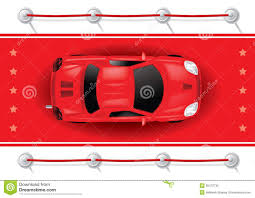 car top view on red carpet stock vector image of racing 36472735