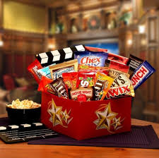 Movie Themed Gift Basket Creative Gift Ideas For Your Bridesmaids Aisle Perfect