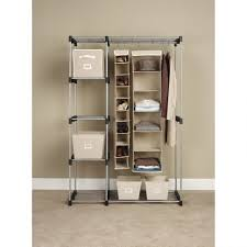Clothing Storage Solutions by Bedroom Furniture Sets Mobile Garment Rack Rolling Wardrobe