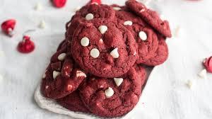 red velvet white chocolate chip cookies recipe bettycrocker com
