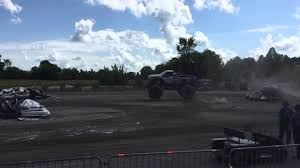 monster truck shows 2015 monster truck show slow mo 8 2015 capital fair youtube