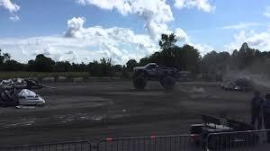 monster trucks show 2015 monster truck show slow mo 8 2015 capital fair youtube