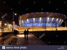liverpool echo arena at night part of acc liverpool area and