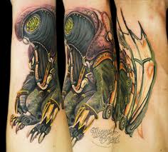 songbird from bioshock tattoo miguel angel custom tattoo u2026 flickr