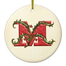 letters of the alphabet ornaments keepsake ornaments zazzle