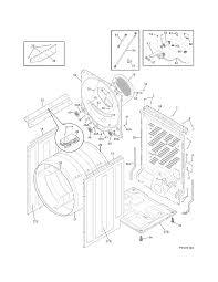 frigidaire affinity dryer heating element
