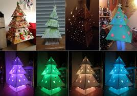 how to make christmas how to make a cardboard christmas tree makedo cardboard construction