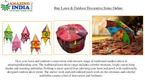 buy lawn outdoor decorative items