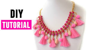 diy necklace statement images How to make a statement necklace diy jewelry making jpg