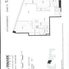 floorplan of 12 710 inmark tower george street sydney nsw