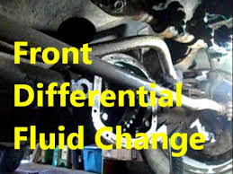 1996 jeep grand rear differential front differential fluid change on 1996 jeep xj