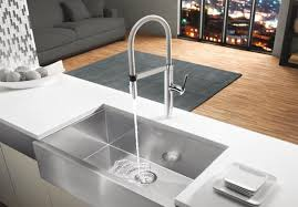 professional kitchen faucet blanco 441331 culina semi pro kitchen faucet chrome