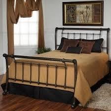 Platform Sleigh Bed Platform Sleigh Bed King Foter