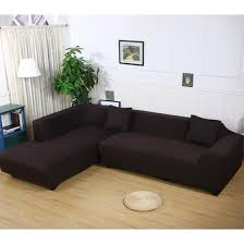 Sectional Sofa Cover Premium Quality Sofa Covers For L Shape 2pcs Polyester Fabric